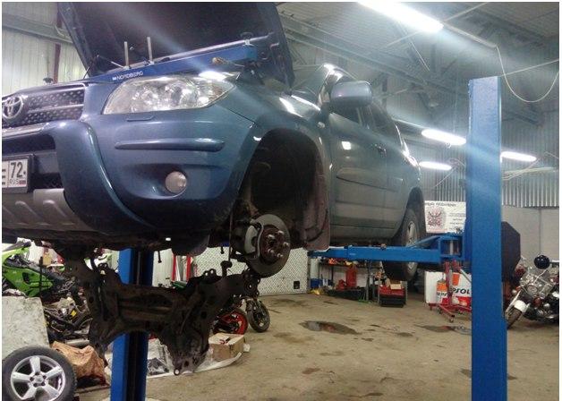 Ремонт автомобиля Toyota Rav4